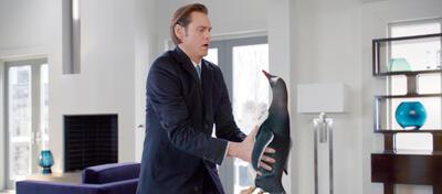 Jim Carrey und ein Pinguin