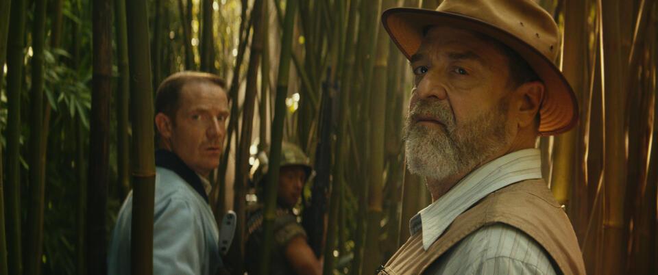 Kong: Skull Island mit John Goodman und Marc Evan Jackson