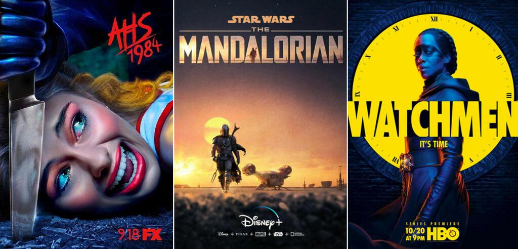 Serien und Staffeln im November 2019