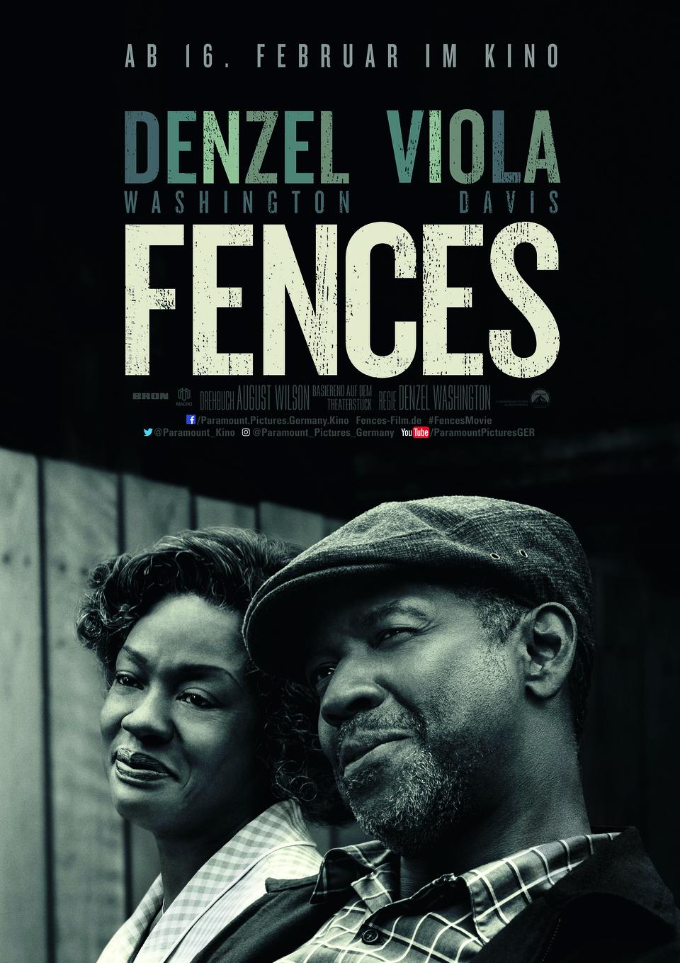 Fences | Film 2016 | moviepilot.de