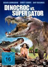 Dinocroc vs. Supergator - Poster