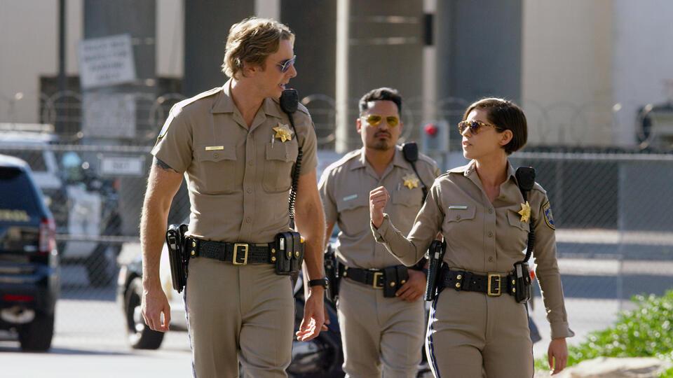 CHiPs mit Michael Peña, Dax Shepard und Rosa Salazar