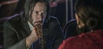 Betet für baldige Kinostarts: Keanu Reeves als John Wick.