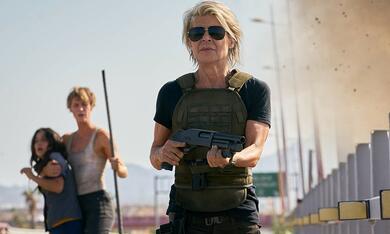 Terminator 6: Dark Fate mit Mackenzie Davis, Linda Hamilton und Natalia Reyes - Bild 3