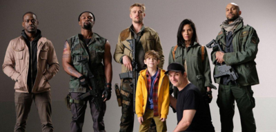 Der Cast aus The Predator