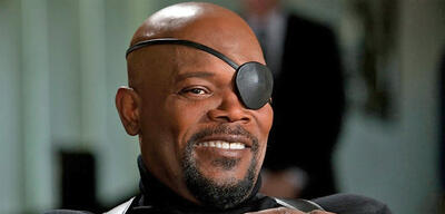 Nick Fury in Avengers: Age of Ultron