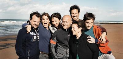 Prominenter Cast der Zübert'schen Produktion Hin und weg