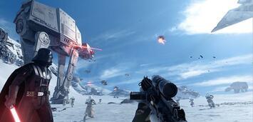 Bild zu:  Wie stark wird die Macht in Star Wars: Battlefront wirklich sein?