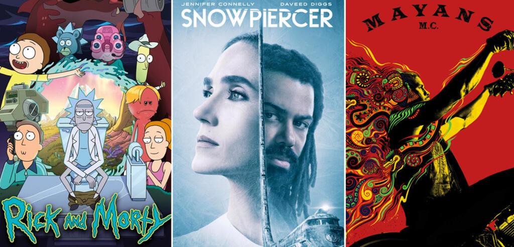 Serien und Staffeln im Mai 2020