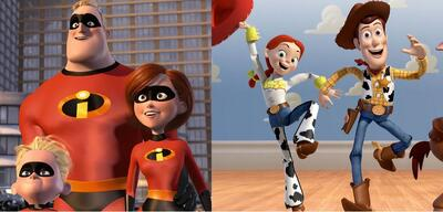 Die Unglaublichen/Toy Story 3