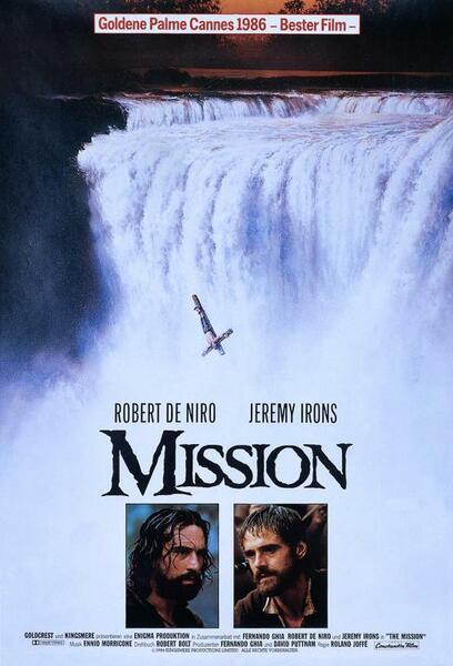 Mission mit Robert De Niro und Jeremy Irons