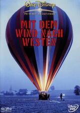Mit dem Wind nach Westen - Poster