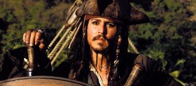 Johnny Depp in Fluch der Karibik