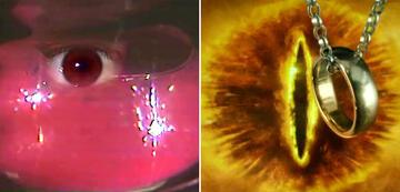 Der Herr der Ringe im Vergleich: Saurons Auge