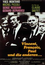 Vincent, François, Paul und die anderen - Poster