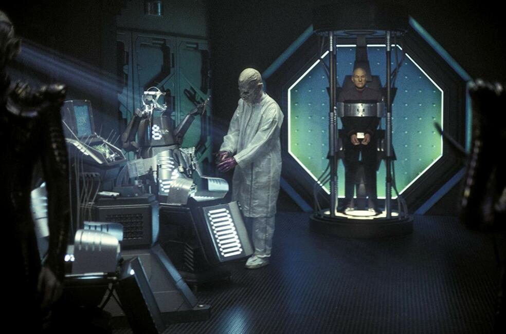 Star Trek - Nemesis mit Patrick Stewart und Ron Perlman
