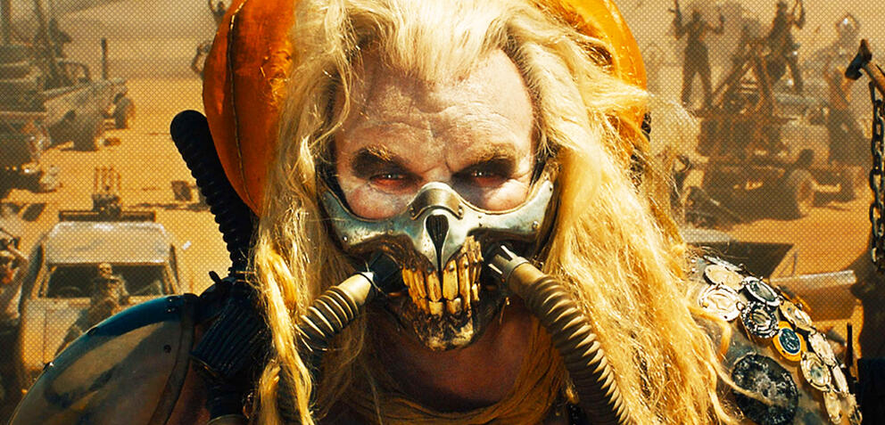 Hugh Keays-Byrne als Immortan Joe in Mad Max: Fury Road