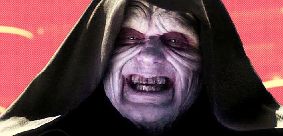 Ian McDiarmid als Palpatine in Star Wars