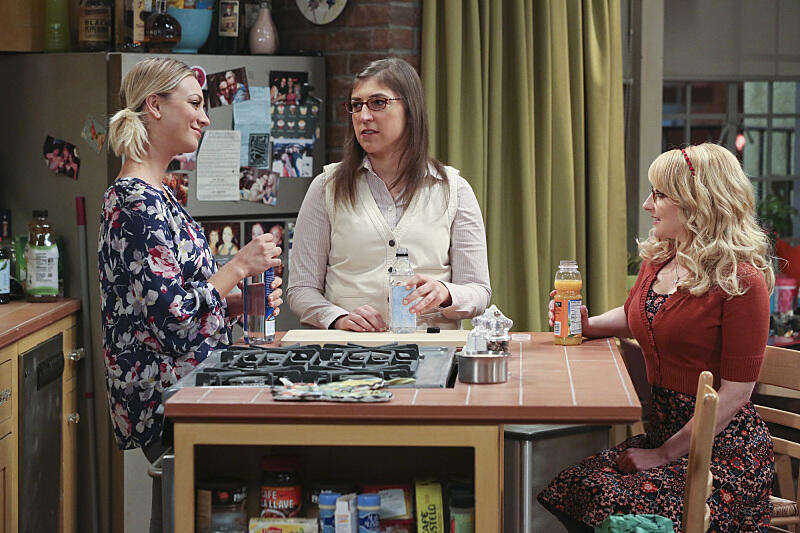 The Big Bang Theory Staffel 9 mit Kaley Cuoco, Melissa Rauch und Mayim Bialik