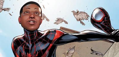 Miles Morales als Spider-Man in den Comics