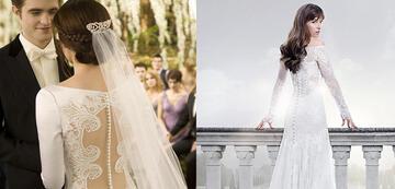 Bella und Ana in Breaking Dawn 1 und Fifty Shades of Grey 3