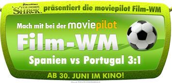 Bild zu:  Shrek präsentiert Film-WM Spanien vs. Portugal