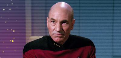 Patrick Stewart als Picard