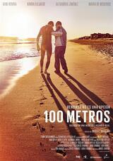 100 Metres - Poster
