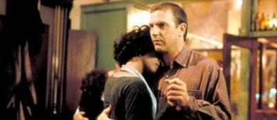 Das Filmpaar des Jahres 1992: Kevin Costner und Whitney Houston in Bodyguard