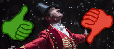 Hugh Jackman als P.T. Barnum in Greatest Showman