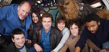Bild zu:  Star Wars-Anthology-Film um Han Solo (hier noch mit Chris Miller und Phil Lord)