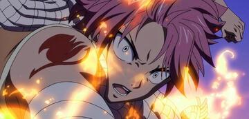 Natsu in Fairy Tail: Dragon Cry