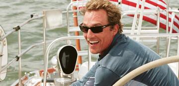 ein bootskundiger Matthew McConaughey in Zum Ausziehen verführt