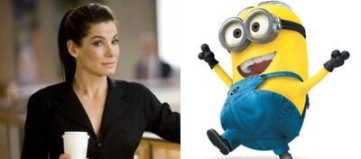 Sandra Bullock wird eine Rolle in Minions sprechen.