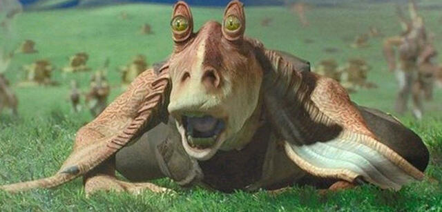 Jar Jar Binks in Episode I