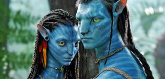 Jake und Neytiri in Avatar