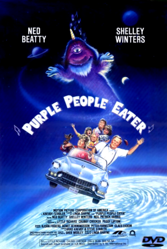 Purple People Eater - Der kleine Lila Menschenfresser