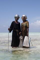 Über den Inseln Afrikas - Sansibar - Poster