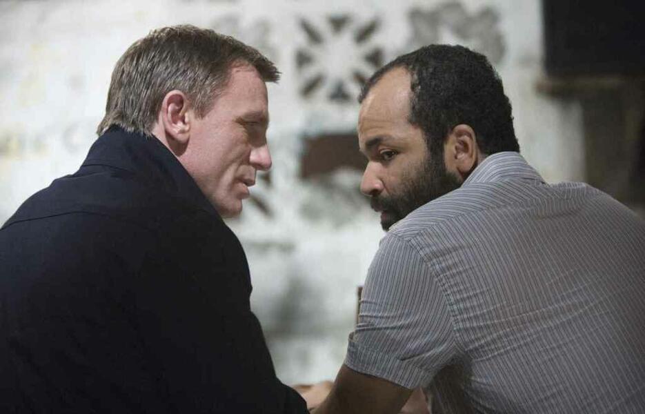 James Bond 007 - Ein Quantum Trost mit Daniel Craig und Jeffrey Wright