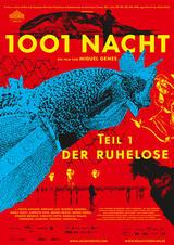 1001 Nacht - Teil 1: Der Ruhelose - Poster