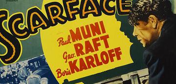 1932: Filmposter zu Scarface