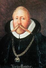 Der Astronom Tycho Brahe mit Bart