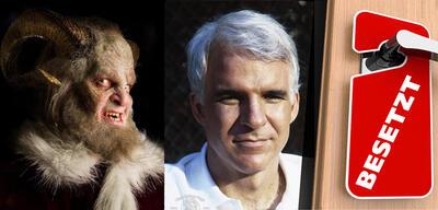 Krampus in NBCs Grimm und Steve Martin inDirty Rotten Scoundrels