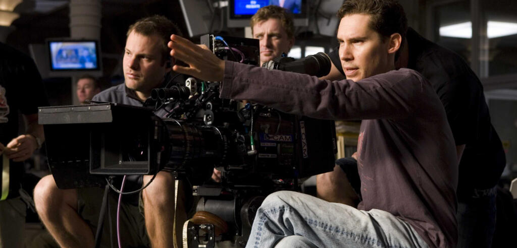 Bryan Singer am Set von X-Men