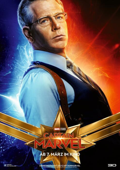 Captain Marvel mit Ben Mendelsohn