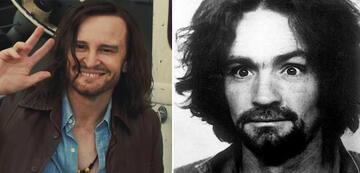 Damon Herriman und Charles Manson