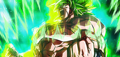 Broly als Super-Saiyajin Full Power