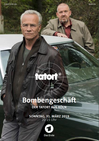 Tatort: Bombengeschäft mit Dietmar Bär und Klaus J. Behrendt