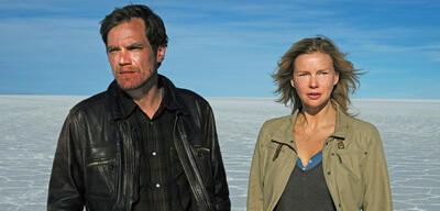 Michael Shannon und Veronica Ferres in Salt and Fire