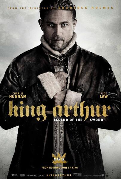 King Arthur: Legend of the Sword mit Charlie Hunnam